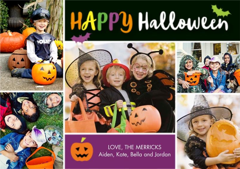 Halloween Photo Cards 5x7 Cards, Premium Cardstock 120lb, Card & Stationery -Halloween Fun