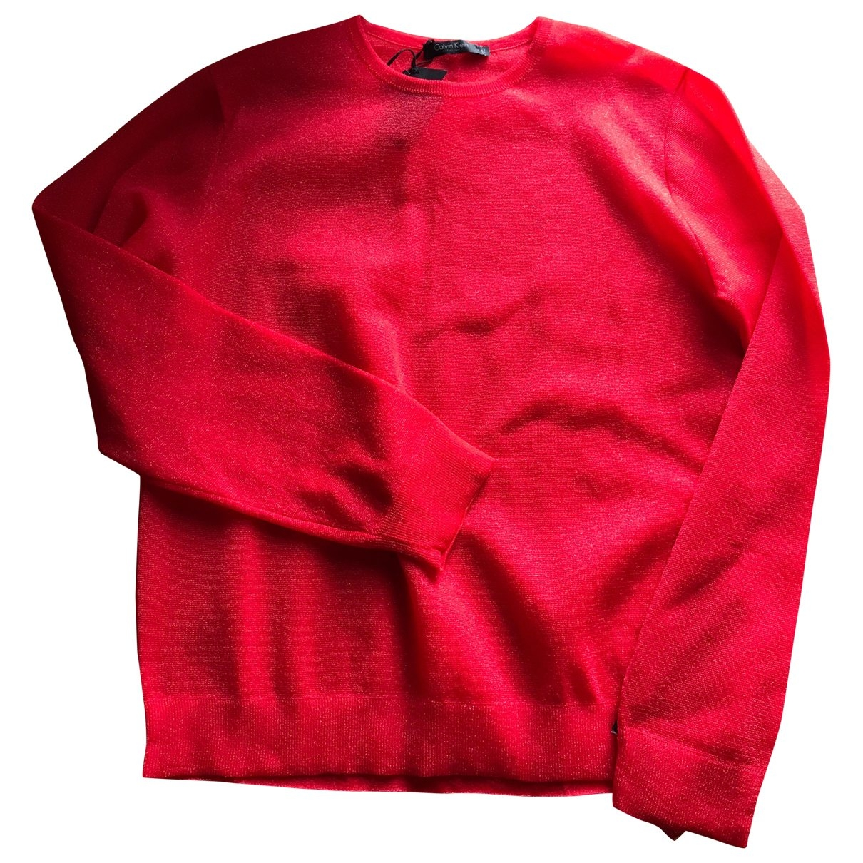 Calvin Klein - Pulls.Gilets.Sweats   pour homme - rouge
