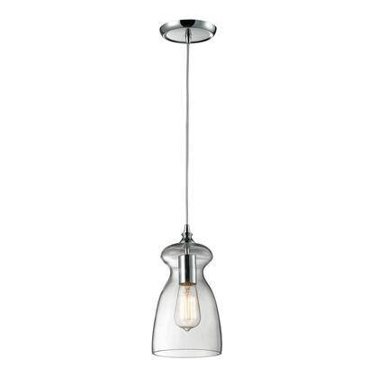 60053-1 Menlow Park 1 Light Pendant in Polished
