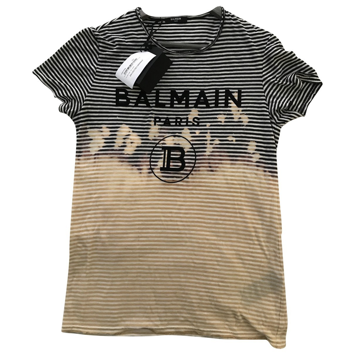 Balmain \N Multicolour Cotton T-shirts for Men XS International