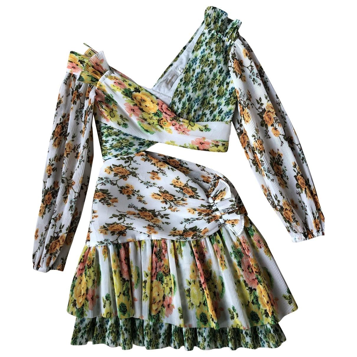 Zimmermann \N Kleid in  Bunt Baumwolle - Elasthan