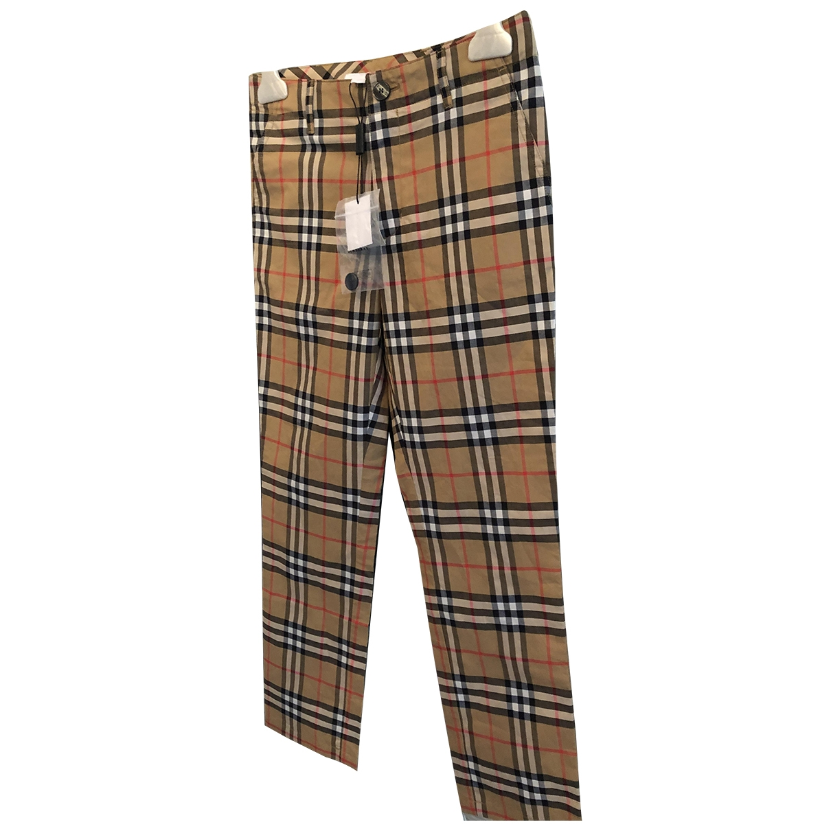 Burberry \N Multicolour Cotton Trousers for Kids 10 years - until 56 inches UK