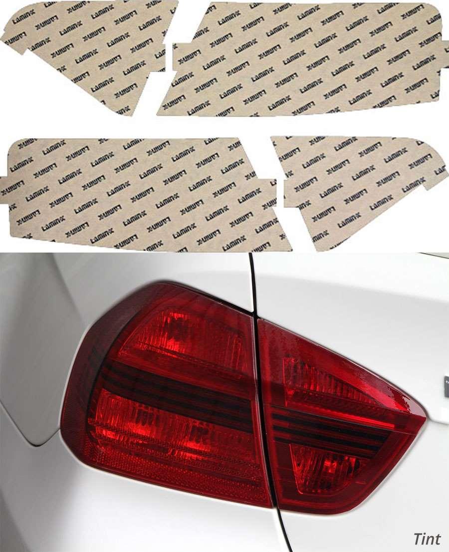 Audi A5 08-12 Tint Tail Light Covers Lamin-X A219T