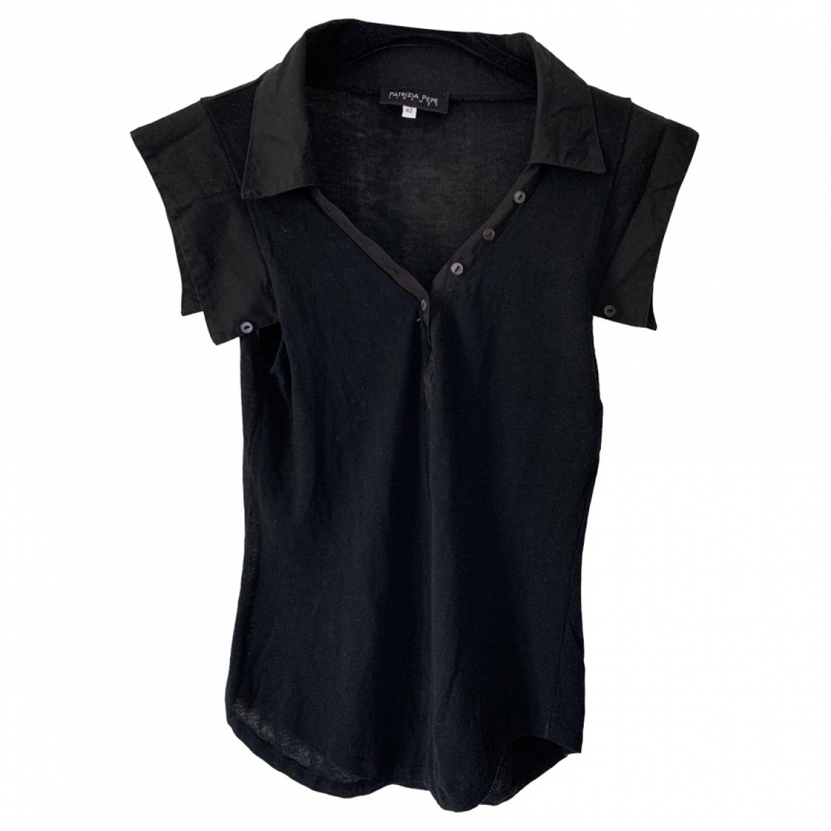 Patrizia Pepe \N Black  top for Women 42 IT