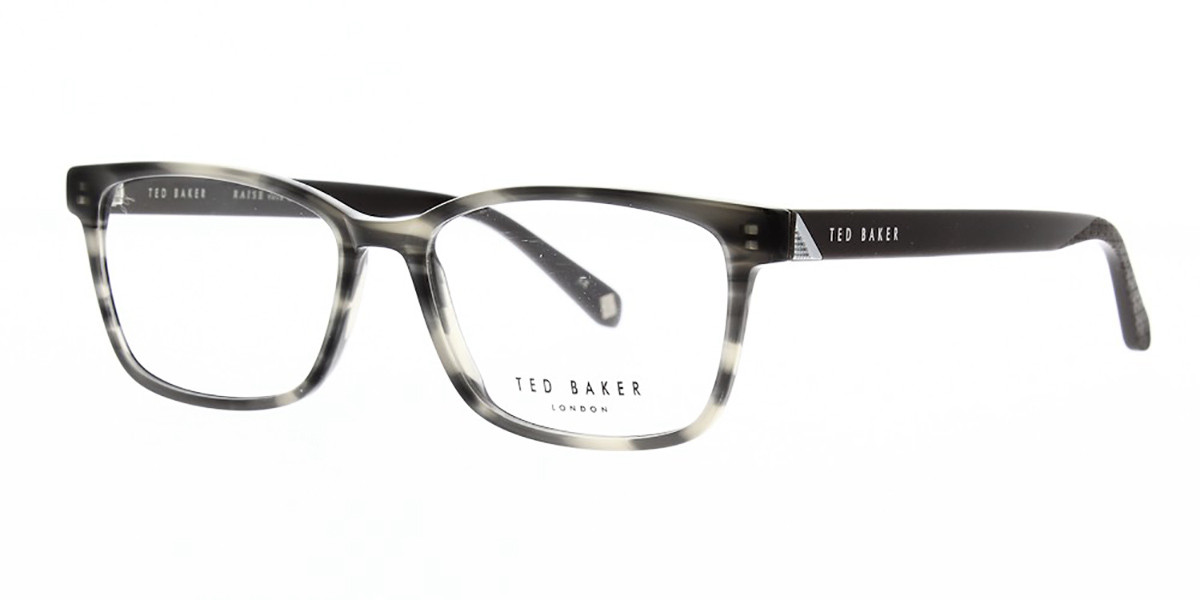 Ted Baker TB8210 Fuller 931 Men's Glasses Grey Size 53 - Free Lenses - HSA/FSA Insurance - Blue Light Block Available