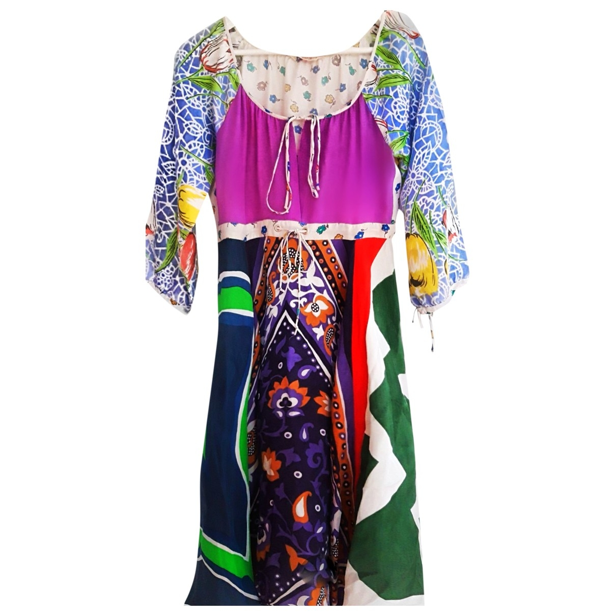Replay \N Multicolour Silk skirt for Women S International