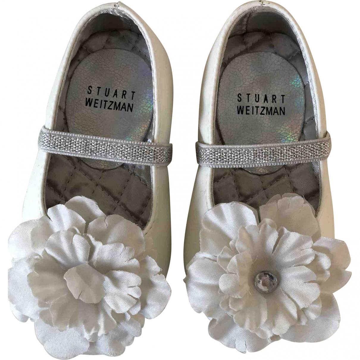 Stuart Weitzman \N Silver Ballet flats for Kids 3.5 US