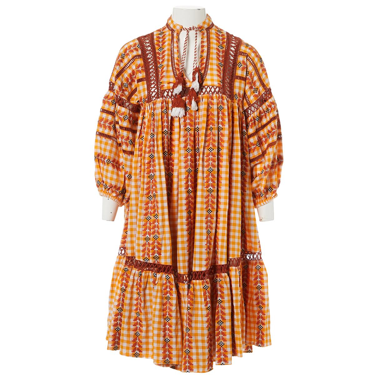 Dodo Bar Or \N Kleid in  Orange Baumwolle