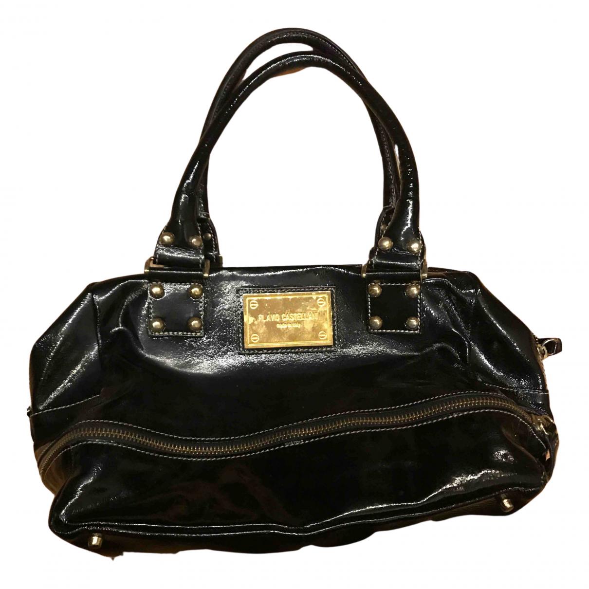 Flavio Castellani N Black Leather handbag for Women N