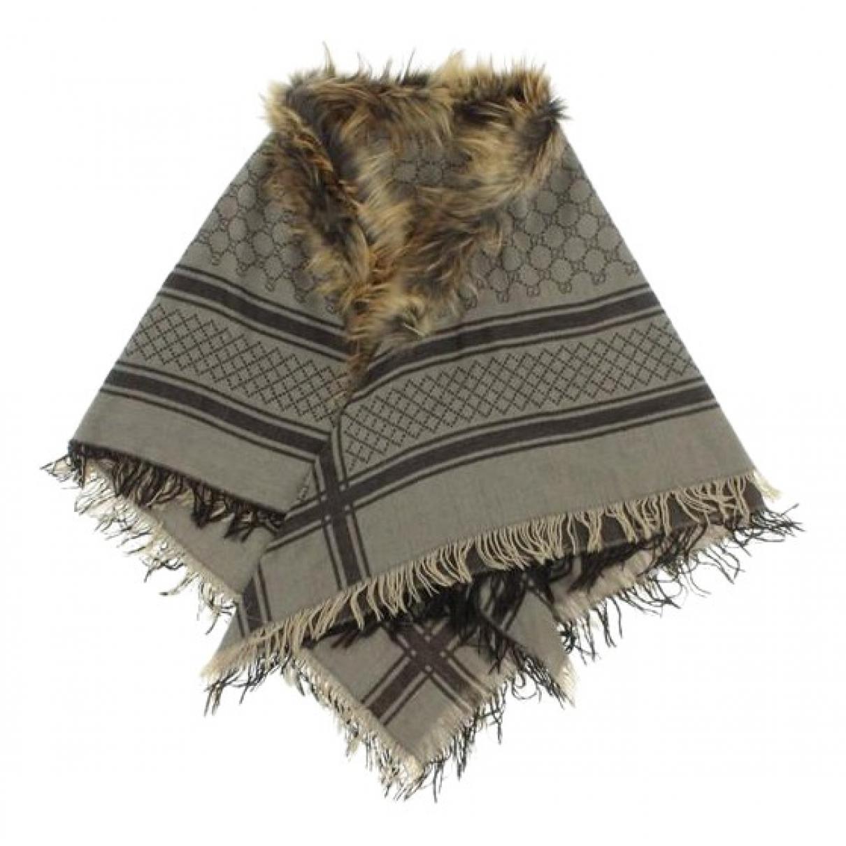 Gucci \N Schal in  Beige Wolle