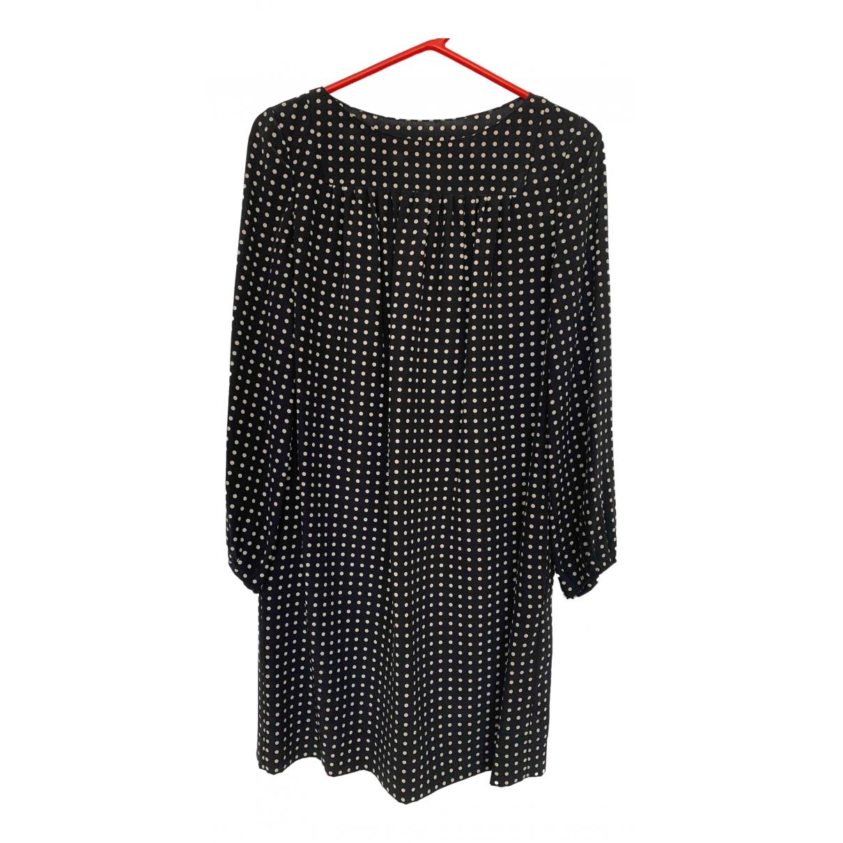 Saint Laurent \N Black Silk dress for Women 38 FR
