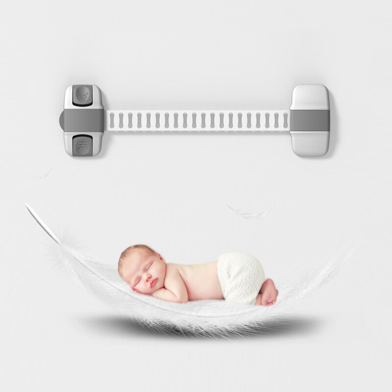 Baby Safety Protection Lock Child Lock Children's Safety Security Blocker Doors Drawers Refrigerator