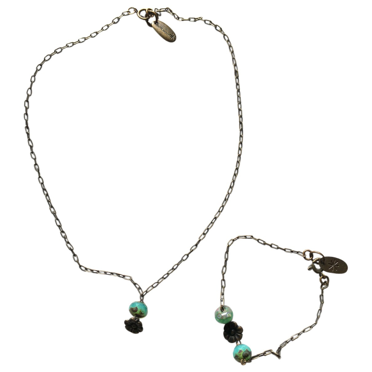Isabel Marant \N Turquoise Metal necklace for Women \N