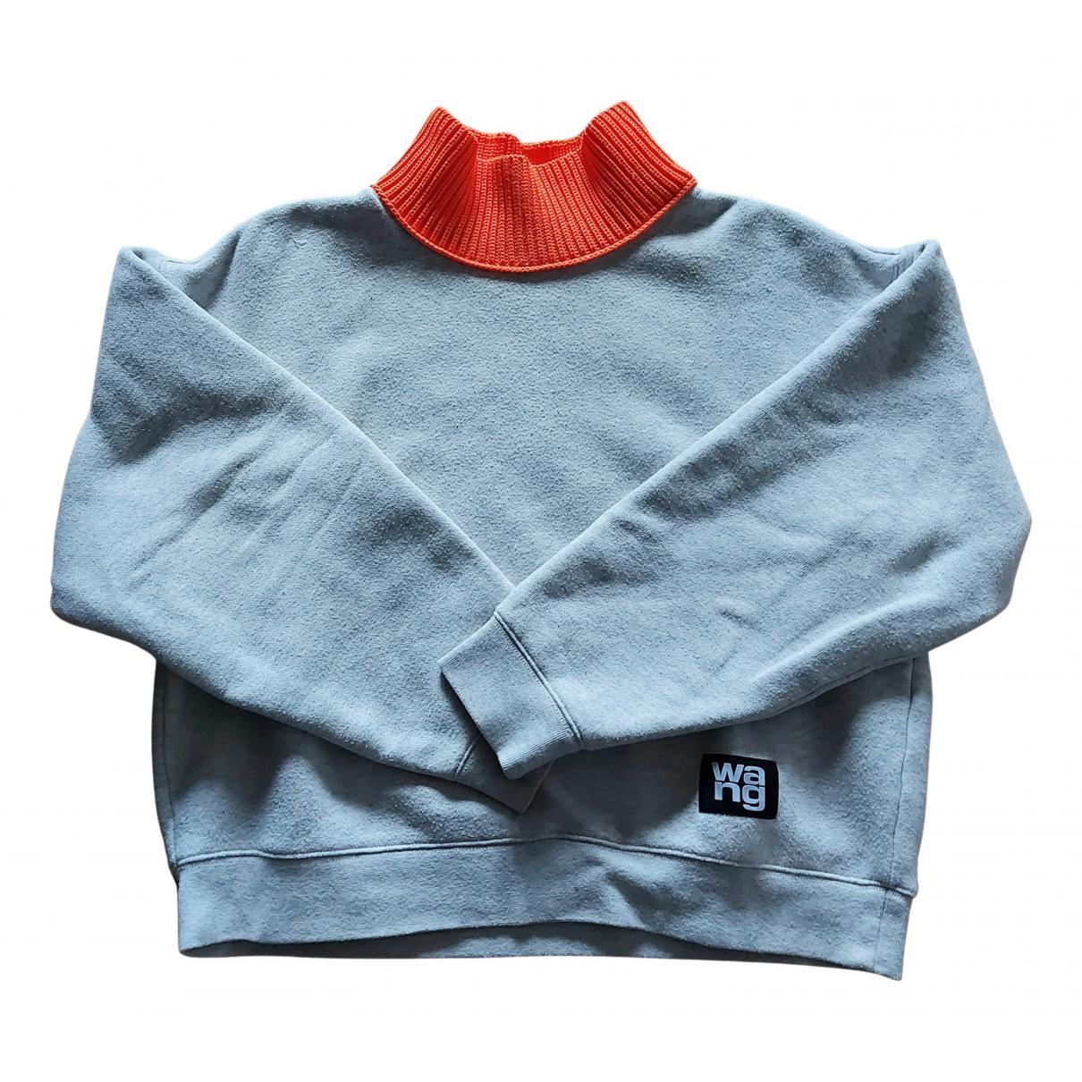 Alexander Wang N Grey Cotton Knitwear for Women 40 FR