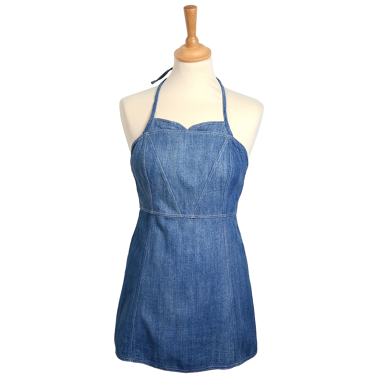 Chanel \N Top in  Blau Baumwolle