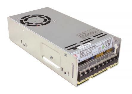 RS PRO , 200W Embedded Switch Mode Power Supply SMPS, 48V dc, Enclosed