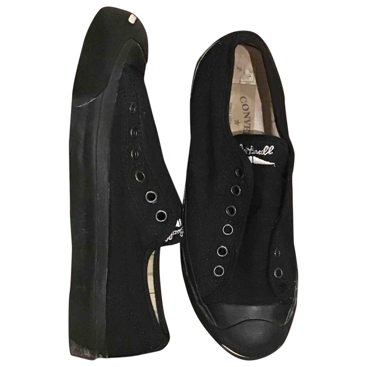Converse \N Black Rubber Trainers for Women 38 EU