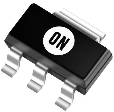 ON Semiconductor , 15 V Linear Voltage Regulator, 6mA, 1-Channel, Adjustable, ±5% 3+Tab-Pin, SOT223 NCP786LSTADJT3G (10)