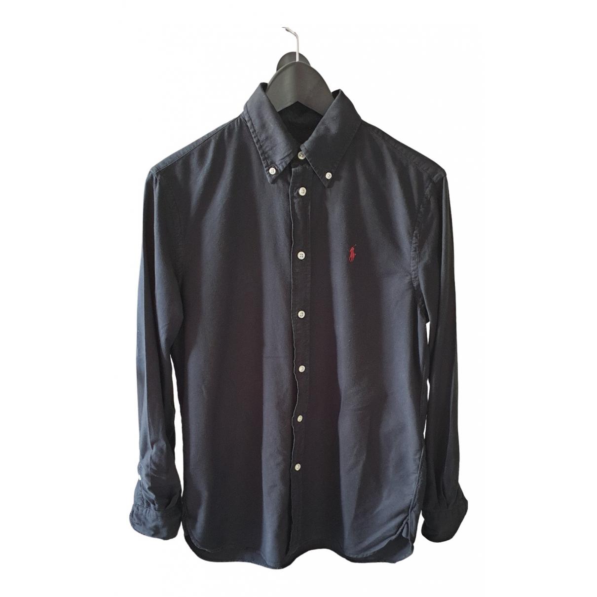Ralph Lauren \N Black Cotton Shirts for Men S