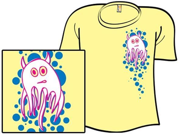 Floating Squishy T Shirt