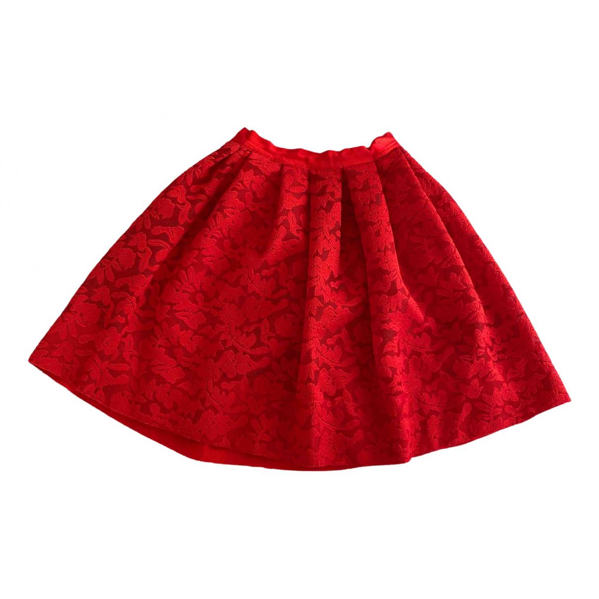 Sandro \N Red skirt for Women 1 0-5