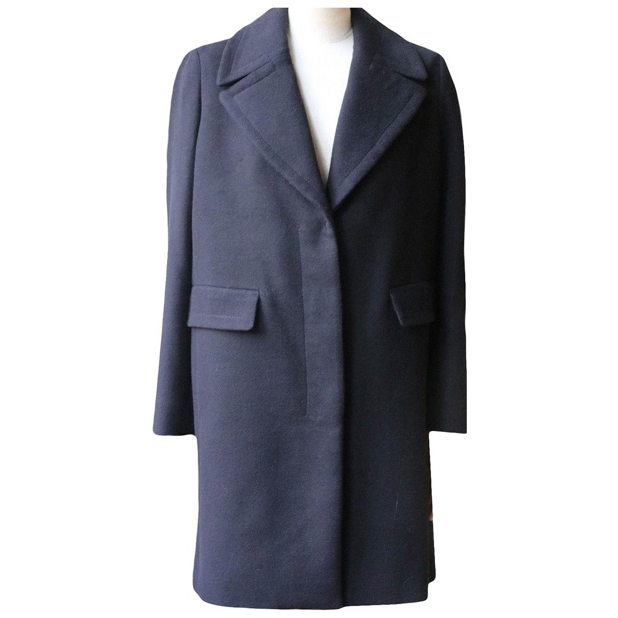 The Row - Manteau   pour femme en laine - noir