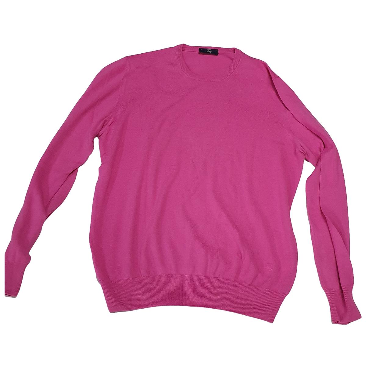 Fay \N Pullover.Westen.Sweatshirts  in  Rosa Baumwolle