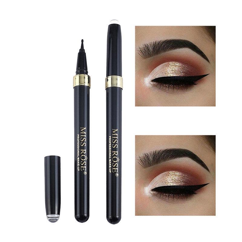 Black Waterproof Eyeliner Long-Lasting Eye Liner Pencil Pen Head Liquid Eyeliner For Eye Makeup