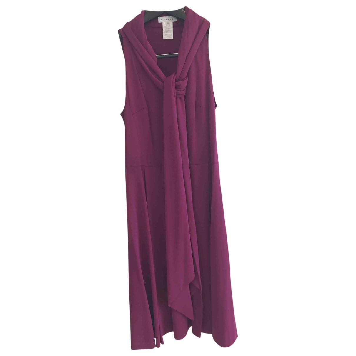 Celine \N Purple dress for Women 40 FR
