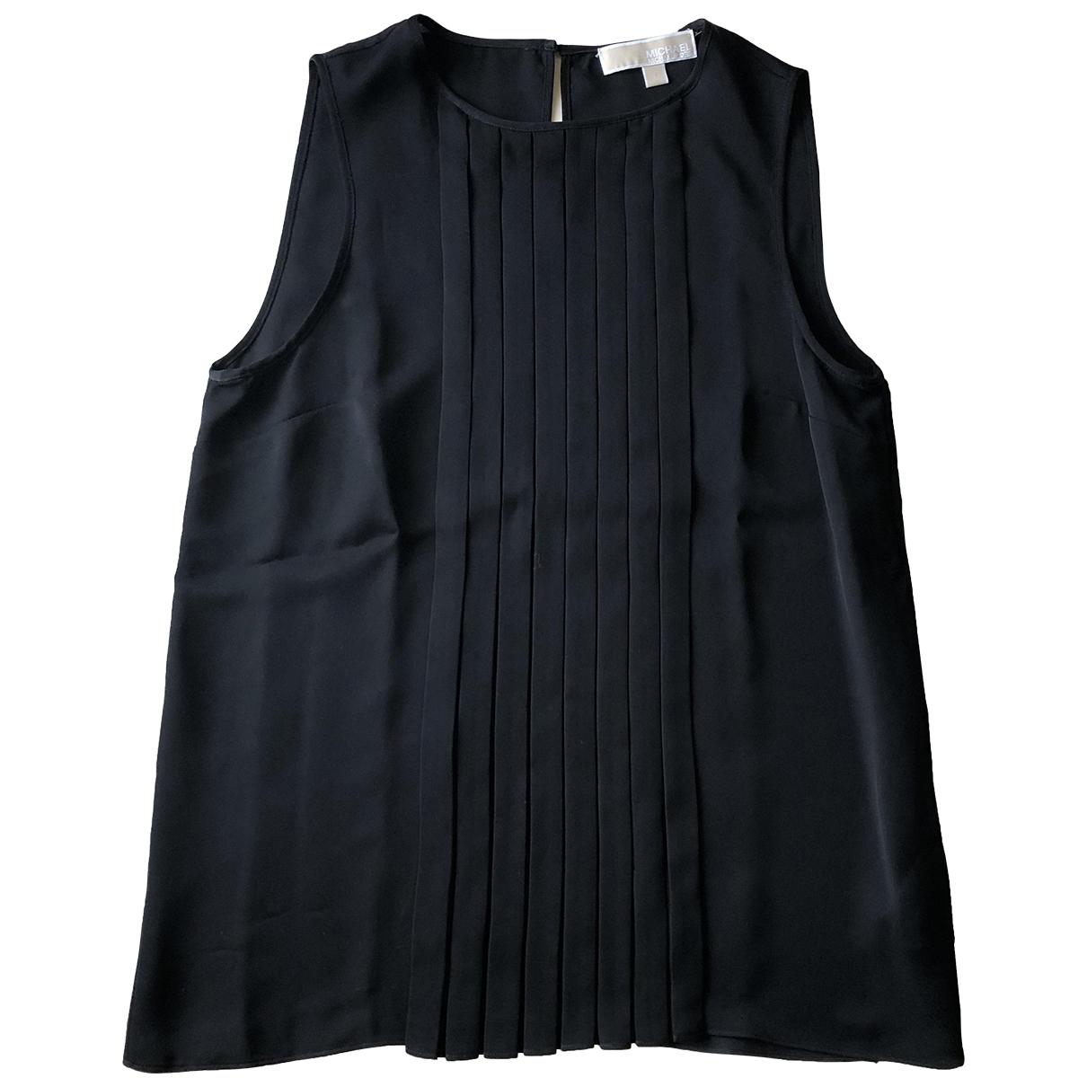 Michael Kors - Top   pour femme en soie - noir