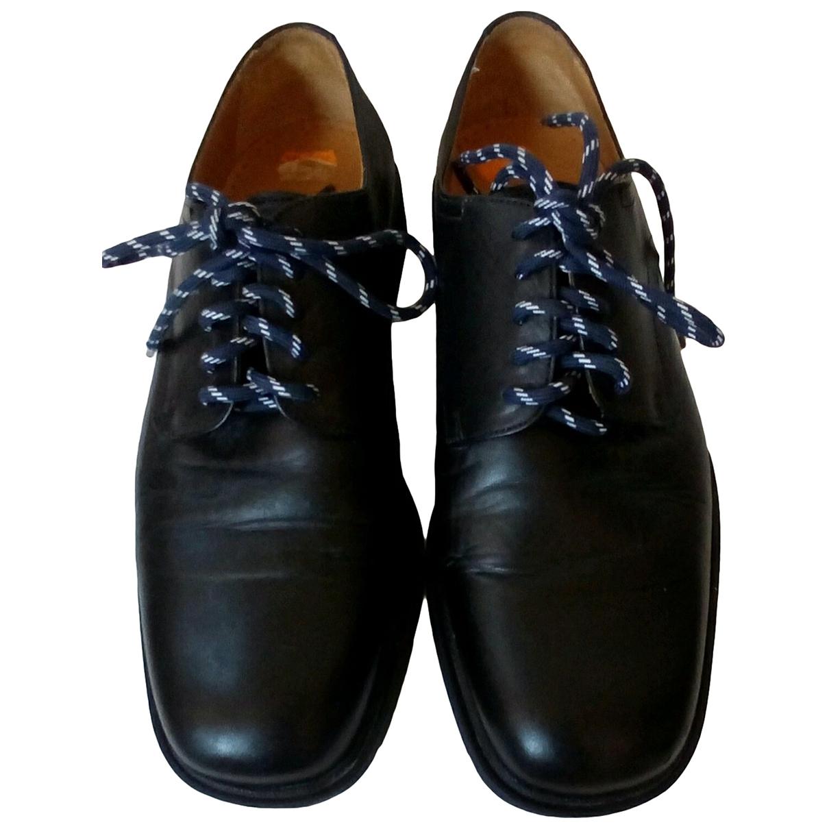Magnanni - Derbies   pour homme en cuir - noir