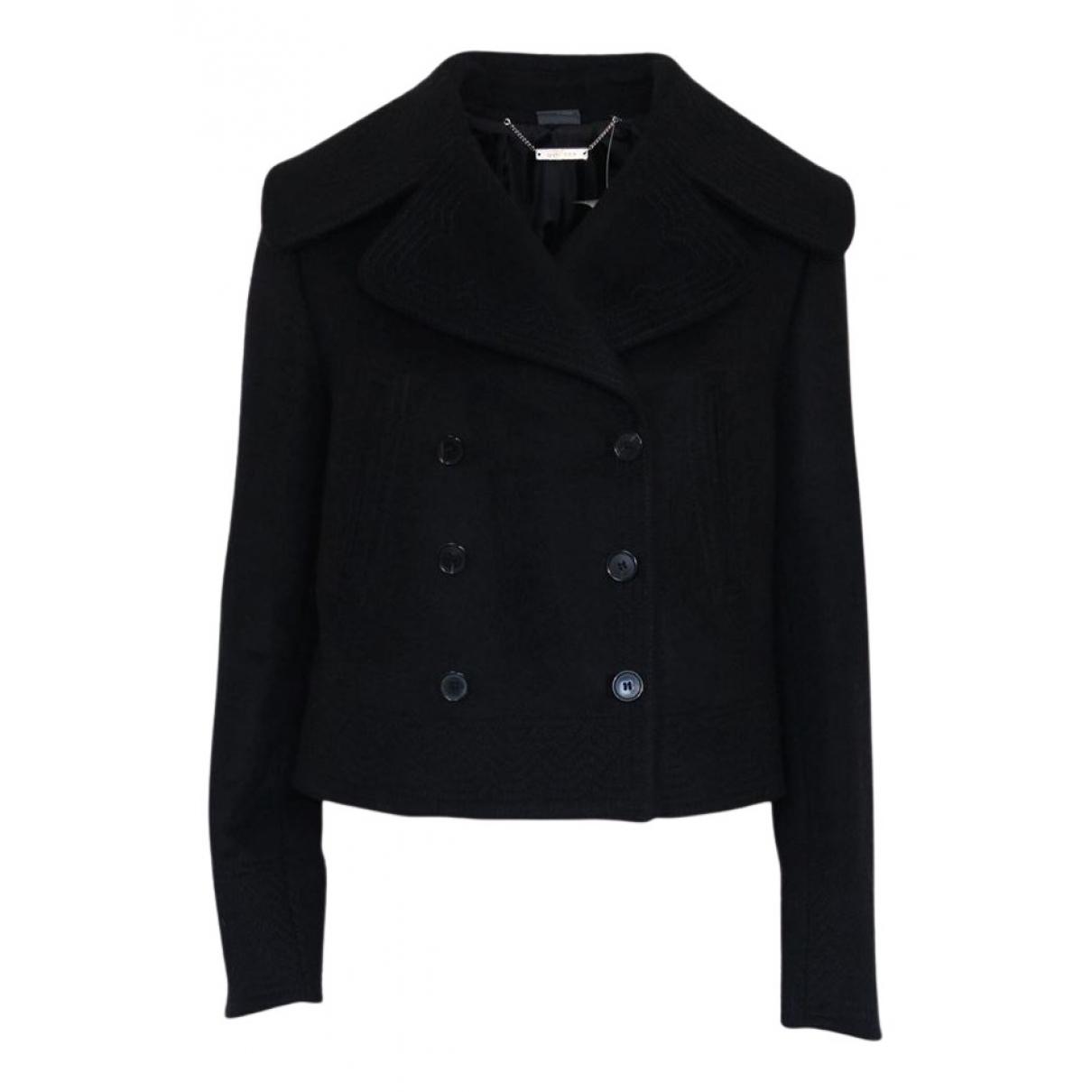 Alexander Mcqueen - Veste   pour femme en laine - noir