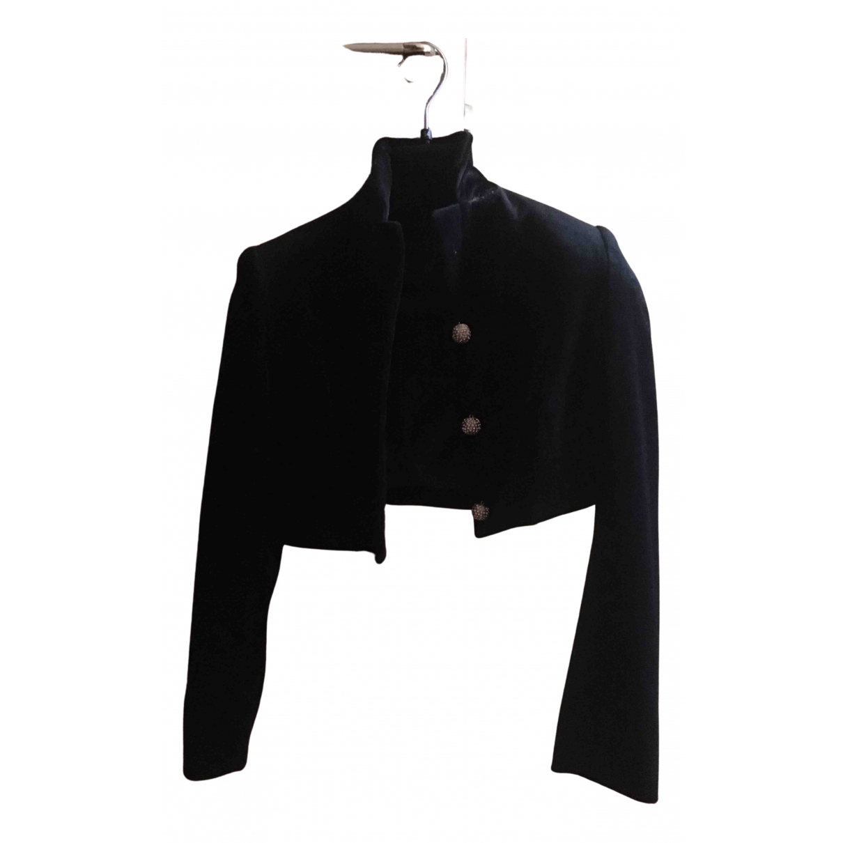 Non Signé / Unsigned N Black jacket for Women S International