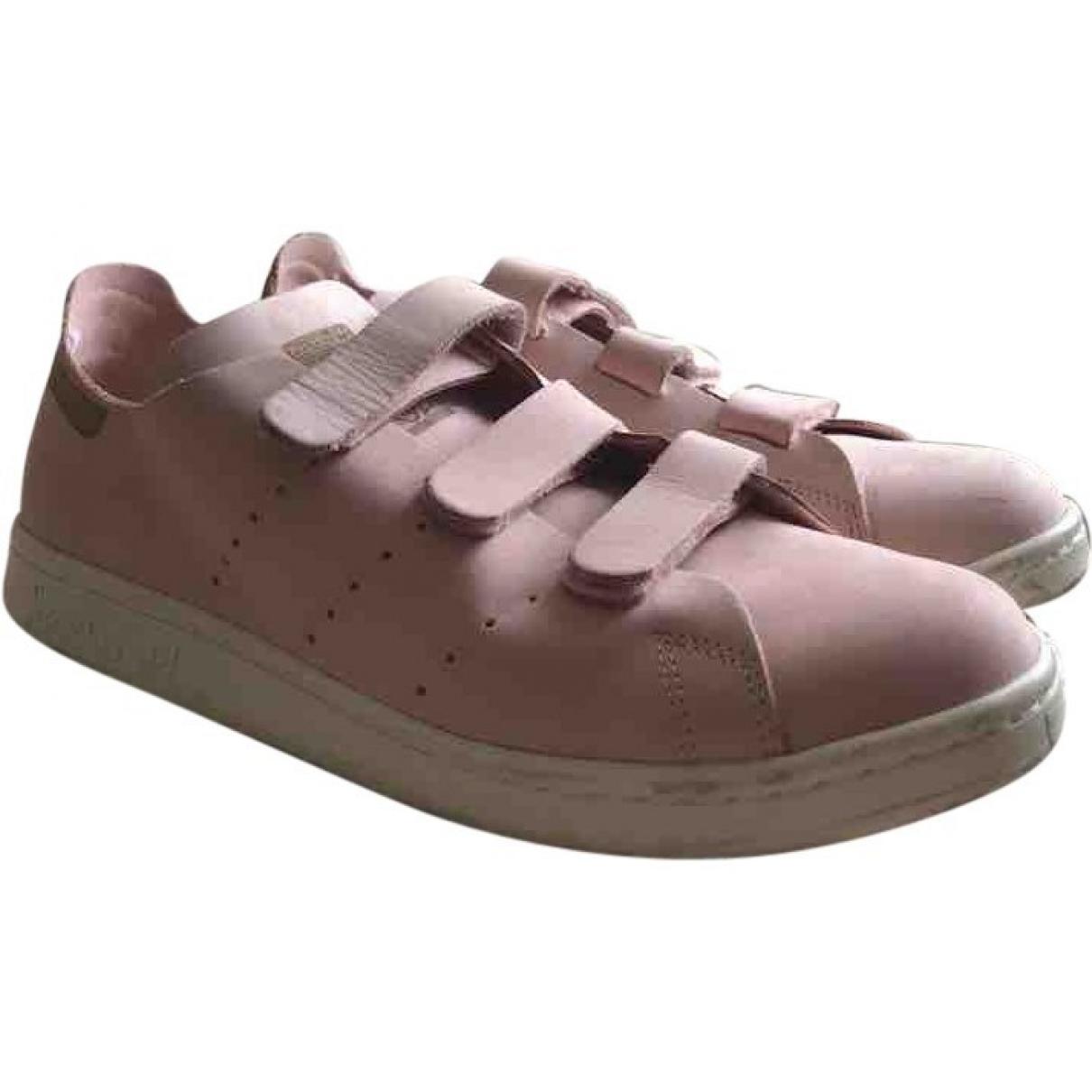 Adidas - Baskets Stan Smith pour homme en cuir - rose