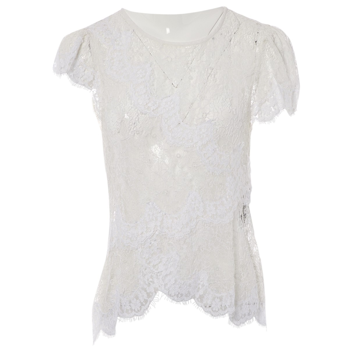 Isabel Marant \N Top in  Weiss Spitze