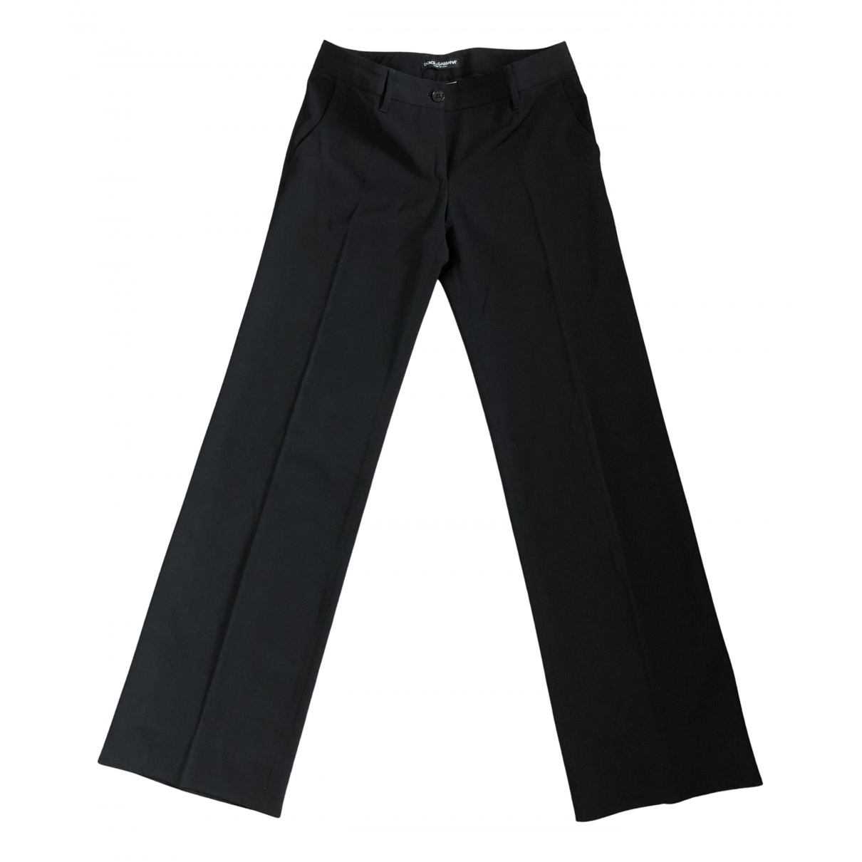 Pantalon largo de Lana Dolce & Gabbana