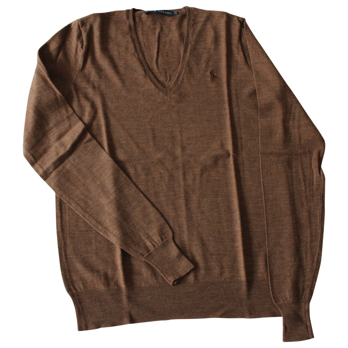 Ralph Lauren \N Brown Wool Knitwear for Women L International