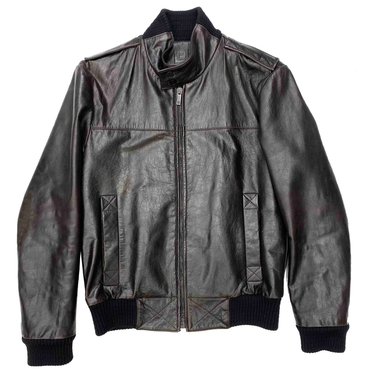 Givenchy - Vestes.Blousons   pour homme en cuir - marron