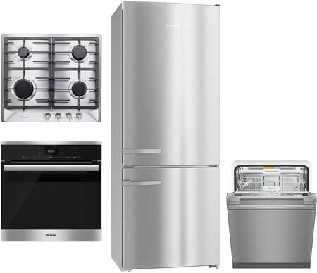 4 Piece Kitchen Appliances Package with KFN15943DE 30