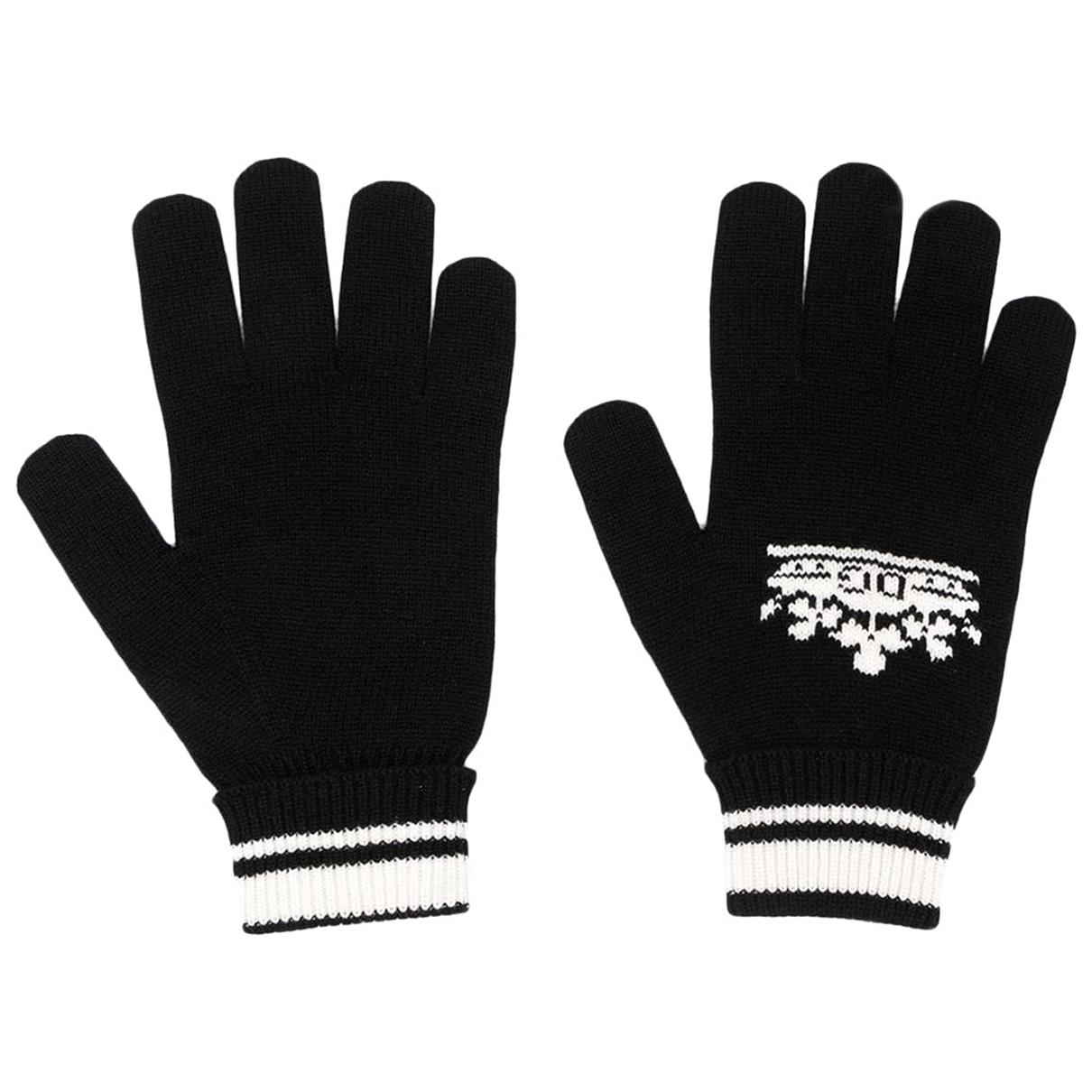 Dolce & Gabbana - Gants   pour homme en cachemire - noir