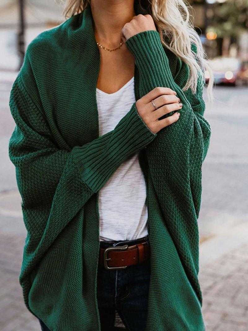 Ericdress Batwing Sleeve Regular Fall Mid-Length Sweater