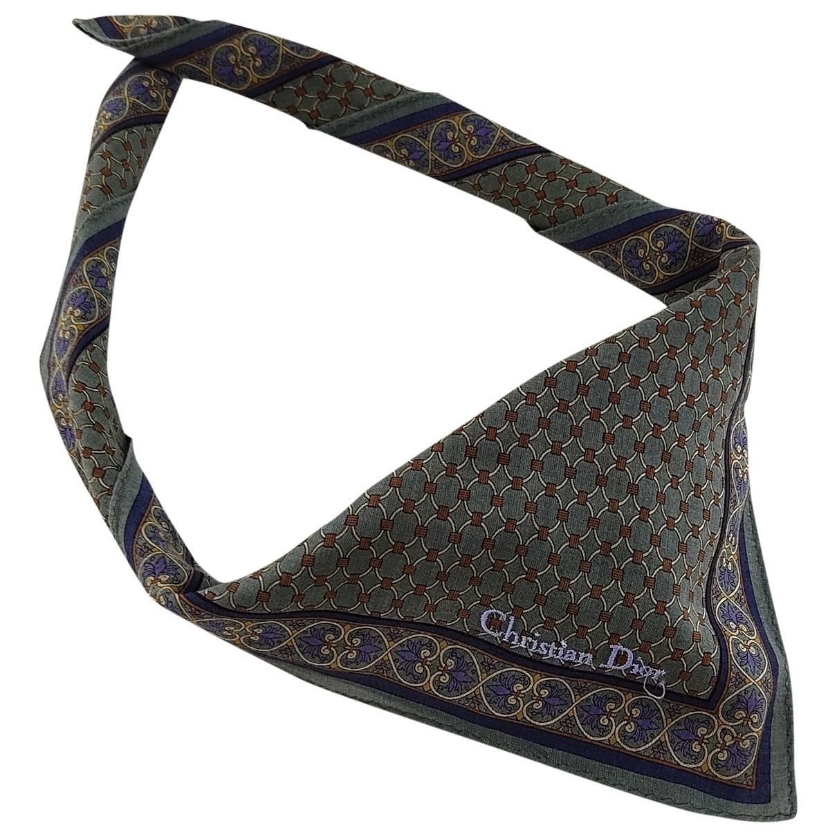 Dior \N Multicolour Cotton scarf & pocket squares for Men \N