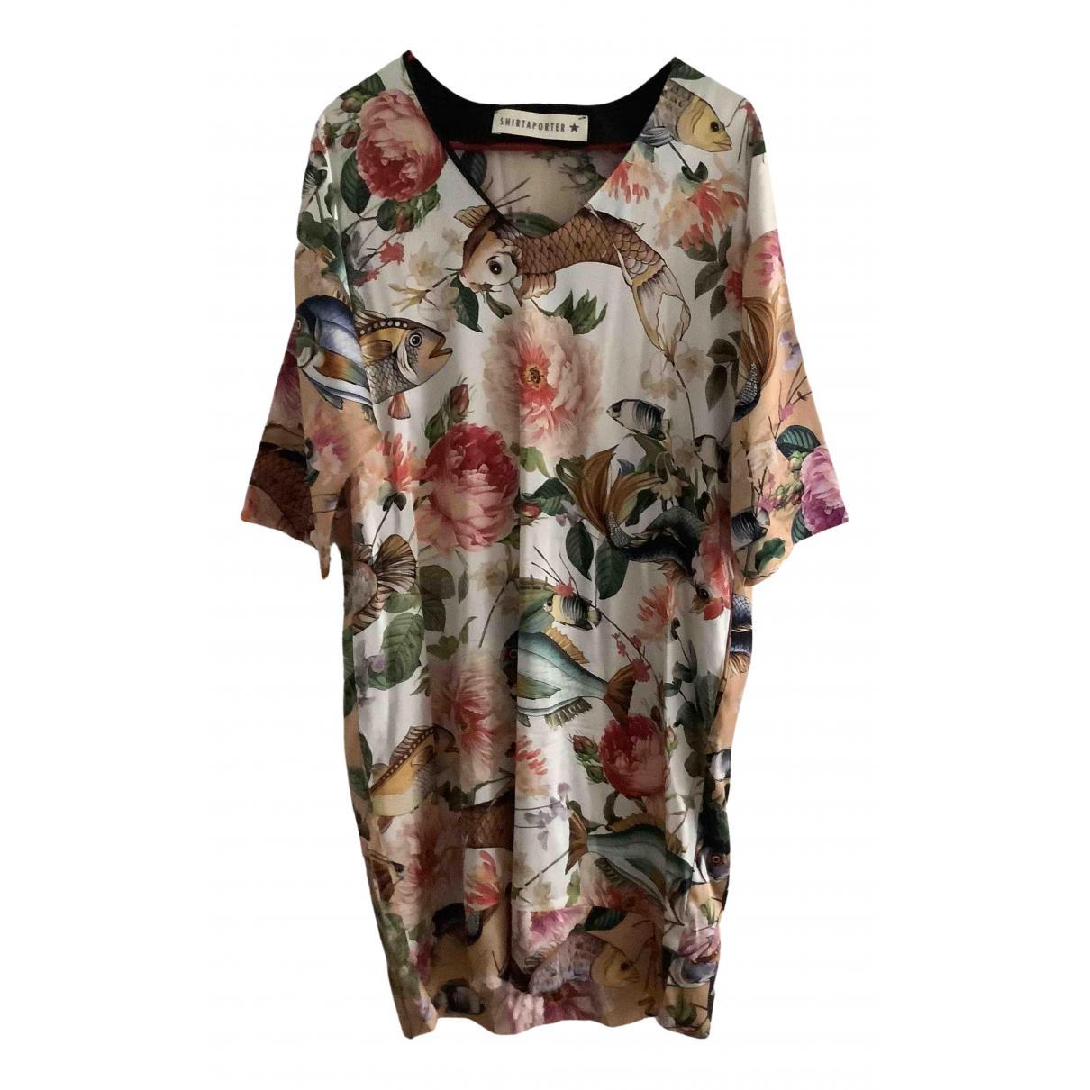 Shirtaporter N Multicolour Silk dress for Women 46 IT