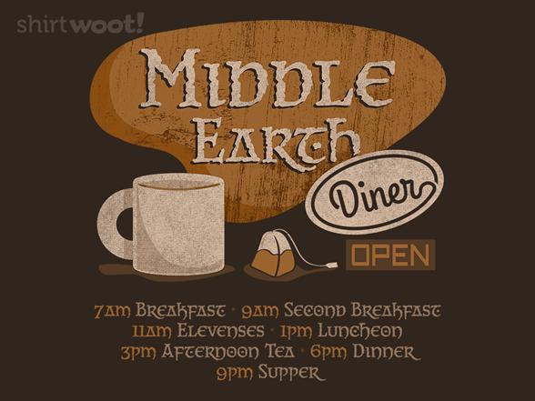 Second Breakfast Diner T Shirt