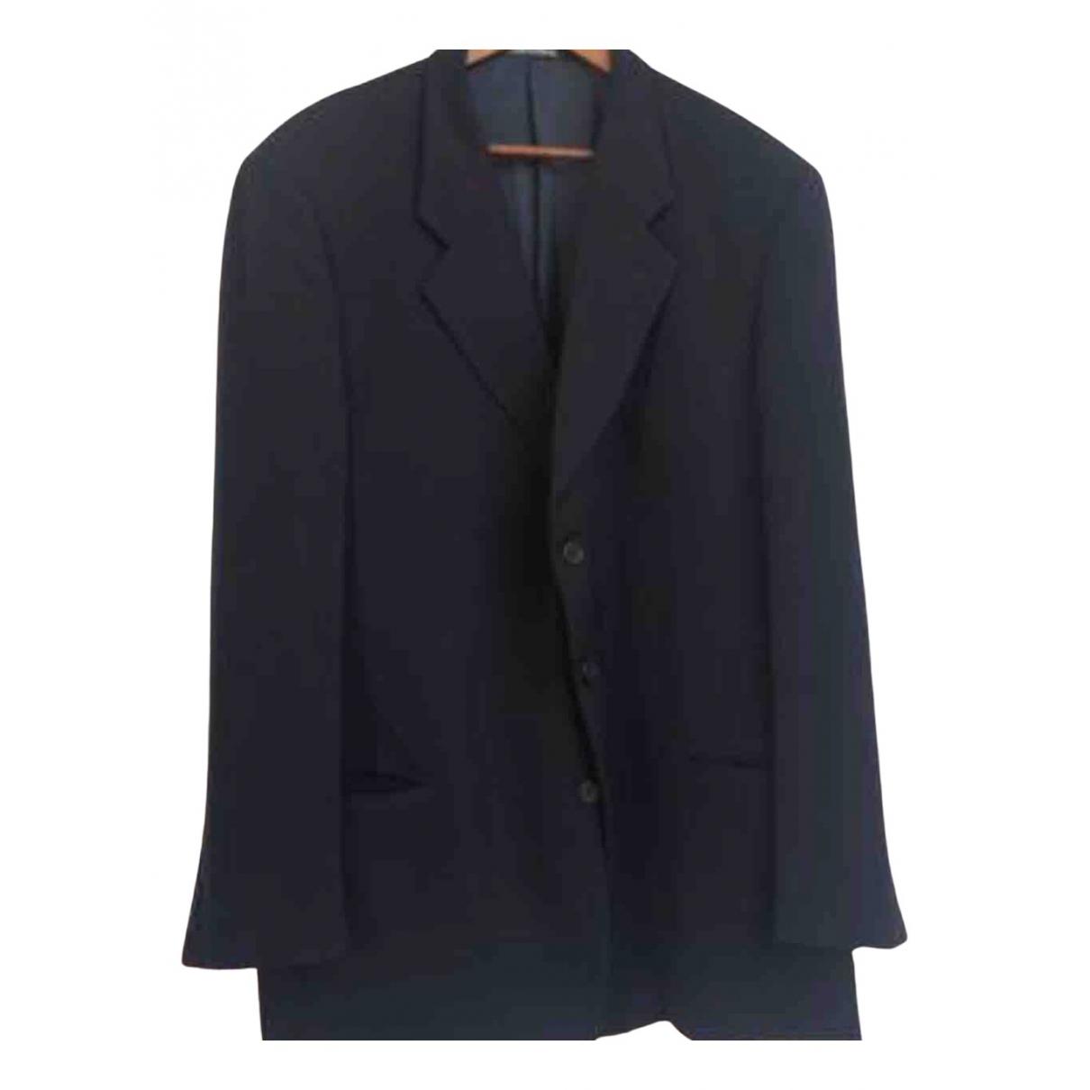 Armani Collezioni \N Black Wool jacket  for Men XL International