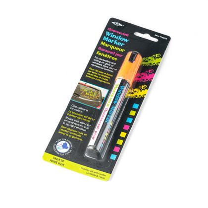 Marqueur fluorescent de fenêtre de couleur fluo pour l'écriture, 1 couleur aléatoire par paquet
