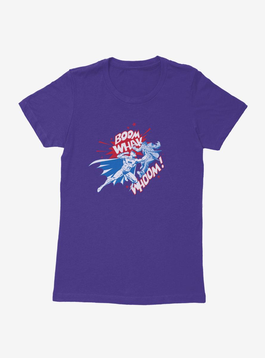 DC Comics Batman Americana Brawl Womens T-Shirt