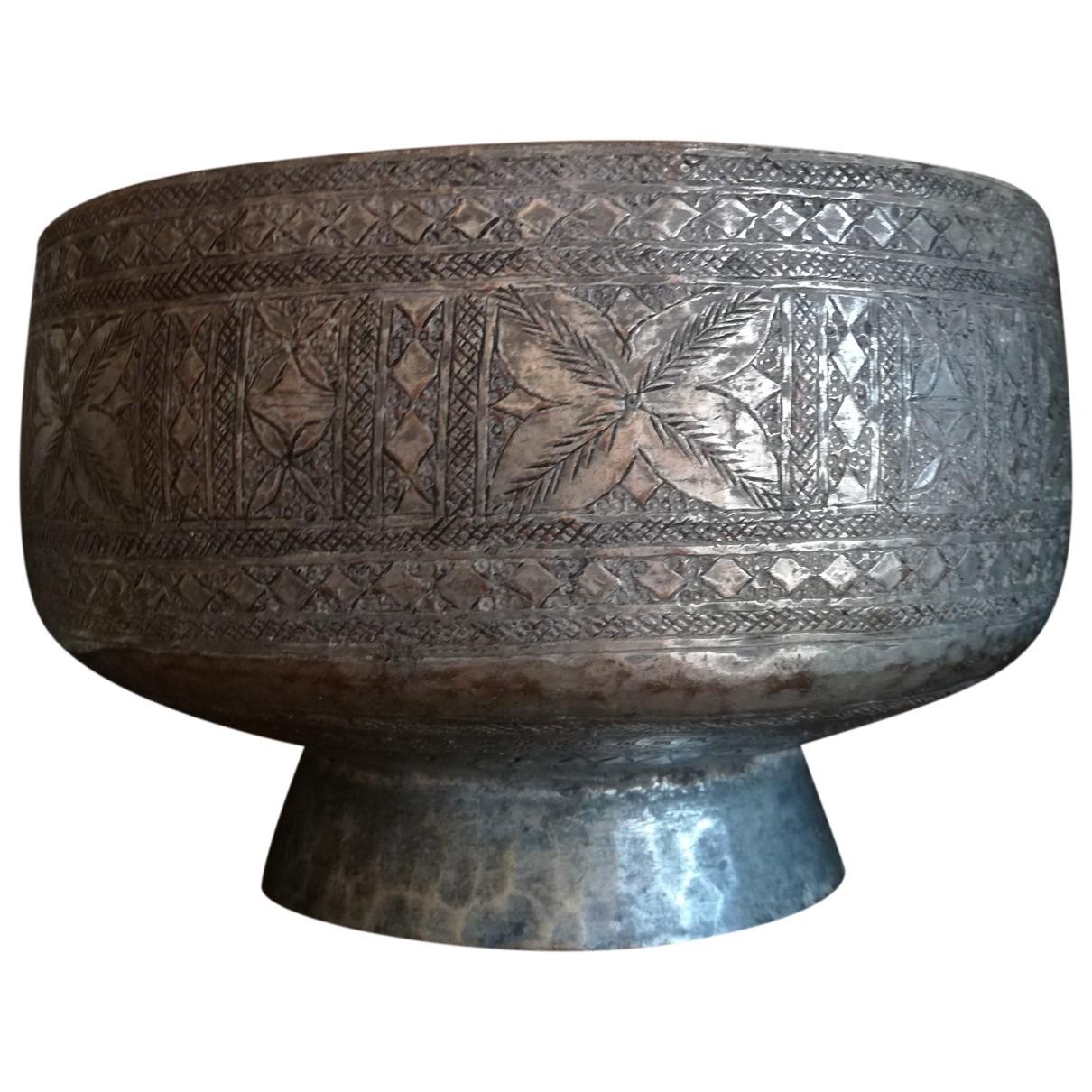 Non Signe / Unsigned \N Accessoires und Dekoration in  Metallic Metall