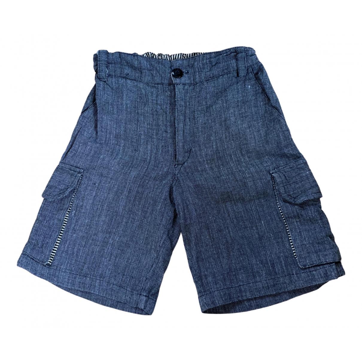 Le Petit Lucas Du Tertre - Short   pour enfant en coton - gris