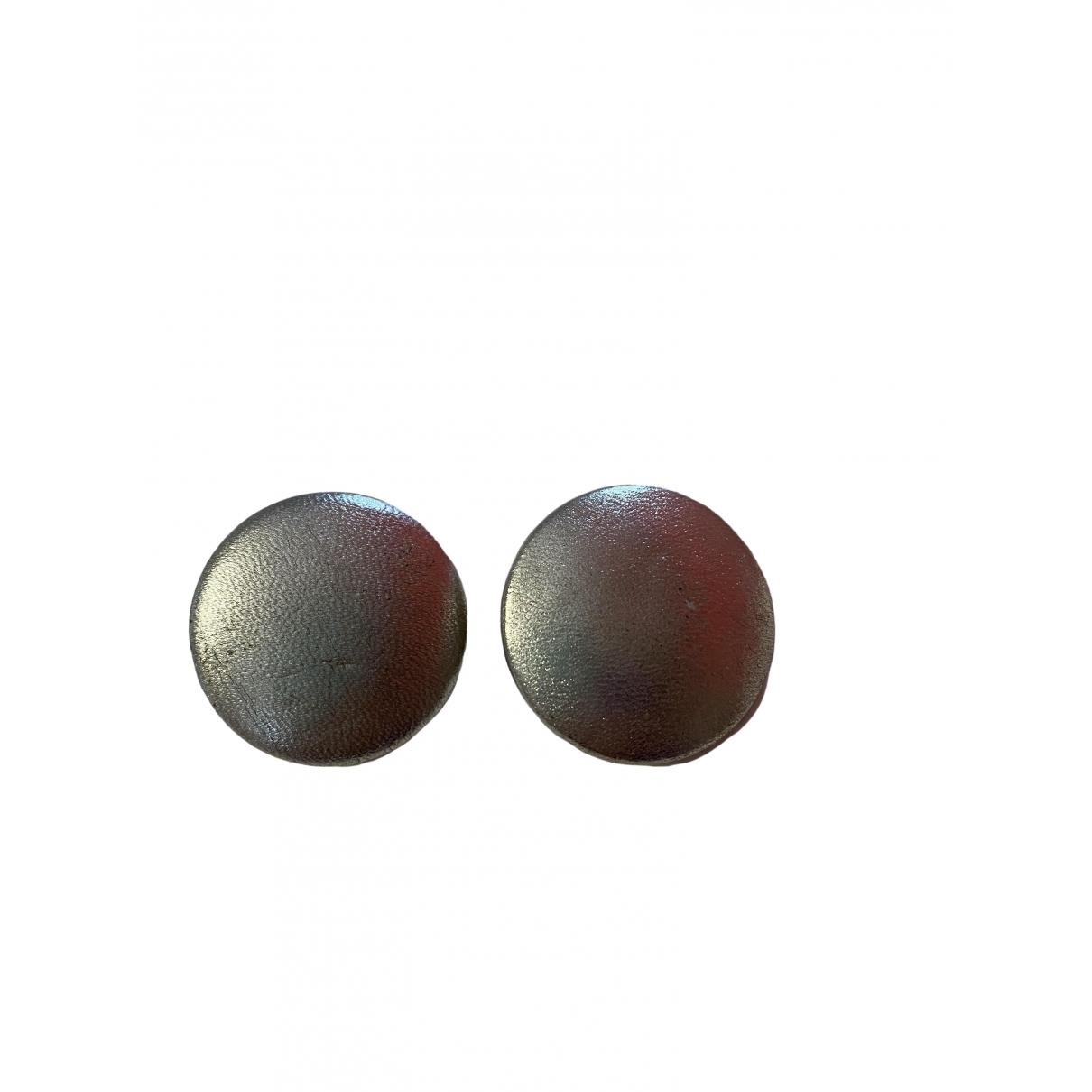 Charles Jourdan \N OhrRing in  Silber Metall